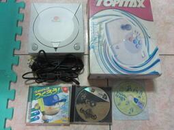 原裝SEGA Dreamcast遊戲機附大型手把3片原版片(3)