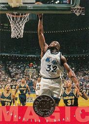 [SAMC] NBA球員卡 Shaquille O'Neal 歐尼爾 1995-96 UD