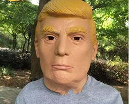 【牛牛柑仔店】川普面具 搞笑面具/名人面具/川普乳膠頭套 美國總統 頭套尾牙抽獎中化裝舞會trump