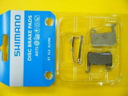 艾祁單車─SHIMANO A01S樹脂來令片一輪份,XTR/XT/SLX/DEORE/ALFINE可用