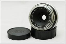 Schneider Xenagon 35mm F3.5 稀少人文街拍銘鏡(已改 Leica M 接環,二手美品)。
