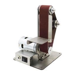 微型小型迷你電動砂帶機DIY拋光機打磨機定角磨刀開刃機台式立式