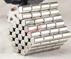 [含稅]強力磁鐵高強超強圓形強磁吸鐵石 diy磁貼玩具扣掛鉤片科技小製作直徑6*高度10毫米