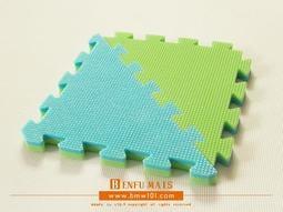 【地墊專家】NO.003-30AI系列食品級無毒無味XPE啟發墊(青綠雙色)--遊戲墊.巧拼地墊.運動墊
