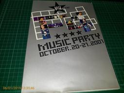 《流星花園 F4 MUSIC PARTY 》OCT/2001 附4張明信片【 CS超聖文化讚】