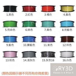 [RY3D] PLA 1.75 1KG 3D列印耗材  四捆免運 美國NatureWorks原料 3D列印 3D筆