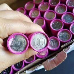 韓國.印尼.泰國硬幣 整卷原裝,全新UNC