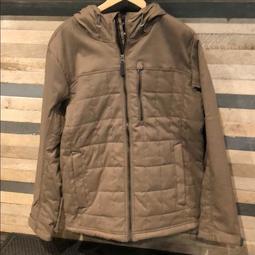 Prana Zion Quilted Jacket 保暖 外套 夾克 男 Mud S號