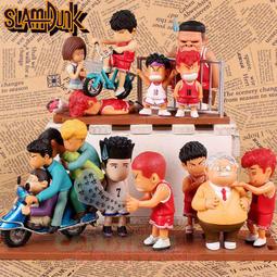 灌籃高手5款場景一組盒裝手辦 公仔 擺件 盒玩 景品 收藏 人偶 擺飾 裝飾 模型