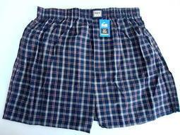 KYH5568 B&W HORSE 五片式格子平口褲四角褲 透氣吸汗舒適好穿精梳棉內褲