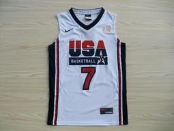 NBA2018全明星賽球衣 美國夢幻隊 Larry Bird賴瑞·柏德 Curry Durant 湯普森