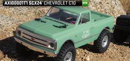 港都RC Axial SCX24 1967 Chevrolet C10 1/24 攀岩車 RTR(AXI00001T1)
