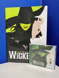 百老匯歌舞劇 Wicked Original Broadway Cast Recording 保存良好