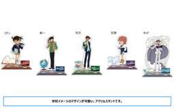 ★GAME BOX★預購4月(免訂金) 日版 Movic 名偵探柯南 學校主題 壓克力人形立牌 5種分售