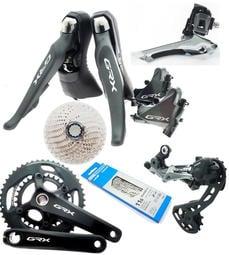 艾祁單車SHIMANO GRX RX810 2x11速48-31T超壓縮盤機械變速油壓碟煞全套比R8020好用