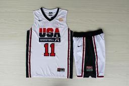NBA2018全明星賽球衣 美國夢幻隊 Karl Malone科爾·馬龍 Curry Durant 湯普森