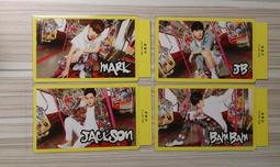 GOT7 LOVE TRAIN 日單 小卡 Mark Jackson JB BamBam 斑斑 專輯 日文 海報 空專
