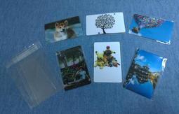 客製化 多件優惠 半透明 小卡 雙面小卡 PVC小卡 卡片 相片 照片 LINE 貼圖 明星 寵物 動漫 來圖訂做