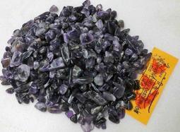 【發發開運坊】天然紫水晶碎石一公斤(附一張化煞符)~已淨化