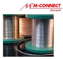 Mundorf supreme 0.5mm 純銀含金單蕊線/白色PTFE 鐵氟龍外皮/1米
