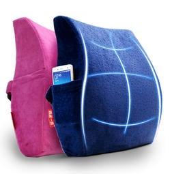 <舒適腰部>久坐不累的秘密 人體工學設計 護腰靠墊 靠枕 記憶棉腰墊 大汽車護墊 加厚款