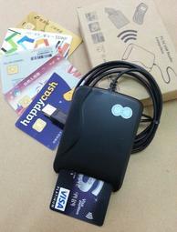 晶片+感應雙介面讀卡機 NFC RFID Reader Mifare 悠遊卡一卡通健保IC卡金融卡自然人憑證 感應讀卡機
