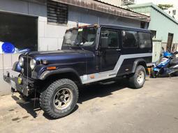 jeep柴油 吉普車 藍哥 可憐多 4x4 4wd