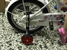 🌟秒殺火雞🌟台灣製12吋14吋16吋18吋20吋兒童腳踏車單速車扁管安全輔助輪 硬塑型輔架側輪 附安裝零件