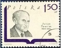 【AntStamp螞蟻郵票站】波蘭 1969 當地詩人-朱俐安 1枚 #9979