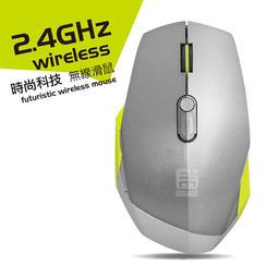 買滑鼠送鼠墊 Exia 能天使 6鍵 2.4GHz 無線滑鼠 三段解析 人體工學設計 上班族必備 辦公室小品