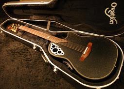 《民風樂府》Ovation Adamas 1581-KK 指彈天后 Kaki King 簽名款 碳纖維 葡萄孔圓背吉他