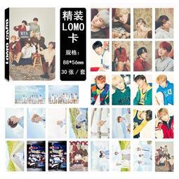 【首爾小情歌】BTS 防彈少年團 團體款 V 田柾國 JIMIN LOMO 30張卡片 小卡組#10