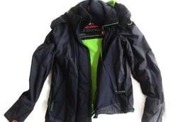 Superdry Jacket 夾克 防風 防潑水大衣 二手 男S號 國外帶回
