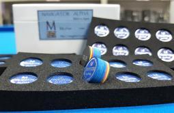全揚撞球 新包裝NAVIGATOR彩虹導航皮頭-撞球桿-撞球杆