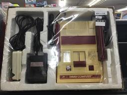 自有收藏 日本版 正宗任天堂官方 FAMILY COMPUTER 紅白機 為30年前中古機 非迷你復刻版