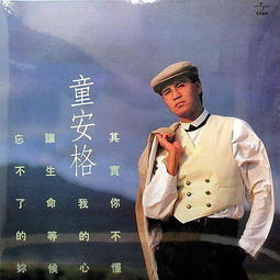 【黑膠唱片LP】其實你不懂我的心/ 童安格 / 收錄的10首歌曲中有9首為童安格作曲 --- 8382501