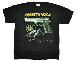 【Mr.17】軍事 BERETTA VOICE 貝瑞塔 手槍 生存遊戲 進口T-SHIRT 短袖 T恤(AM002)