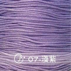 #07淺紫 72號玉線0.8mm(附捲軸)