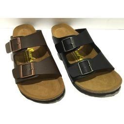 👍外銷日本👍男版兩版基本款側釦可調勃肯拖鞋