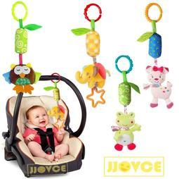 (超取滿599免運)*鎬媽布書布玩園*JJOVCE 風鈴玩具器嬰兒推車挂件 床頭搖鈴布絨寶寶玩具 嬰幼兒毛絨布偶玩具