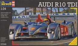稀有 漂亮 奧迪方程式賽車 Revell Audi R10 TDI #07248