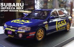 模型車收藏家。Subaru Impreza WRX Sport Wagon GF8免運含稅可分期