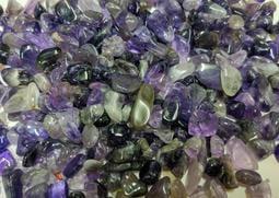 【發發開運坊】開光天然.紫水晶.碎石一包100公克~~已淨化
