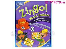 寶貝玩具屋☆【盒玩】085眼明口快Zingo英文ABC單詞填空刷卡英文賓果機
