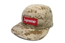 e106aa0cfe4  ScrewCap Supreme NYCO TWILL CAMP CAP 五分割棕褐色數位迷彩