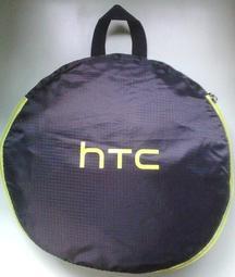 可手提可肩背!hTC VIVE黑底螢光綠邊運動袋1個只要250元!