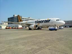 A320 [海天精品殿]台灣虎航 A320 模型飛機 比例1:150
