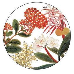 【聚珍臺灣】番社采風系列-陶瓷吸水杯墊/花 | 含稅
