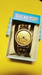 [Gigi搜獲家]哆啦A夢 Doraemon 小叮噹  皮革手錶 皮製手表 swatch(男女都適用)