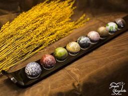 神秘星空☆浪漫點點-JOYCE巧克力工房-星球系列巧克力禮盒_9顆入【星球巧克力、手工巧克力】